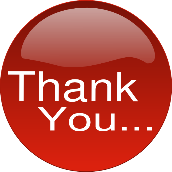 Download this image as: - Animated Thank You PNG For Powerpoint