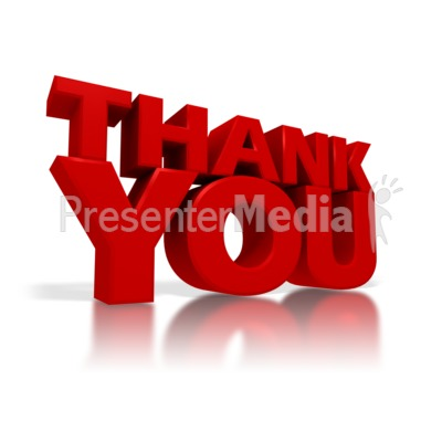 Thank You PowerPoint Clip Art - Animated Thank You PNG For Powerpoint