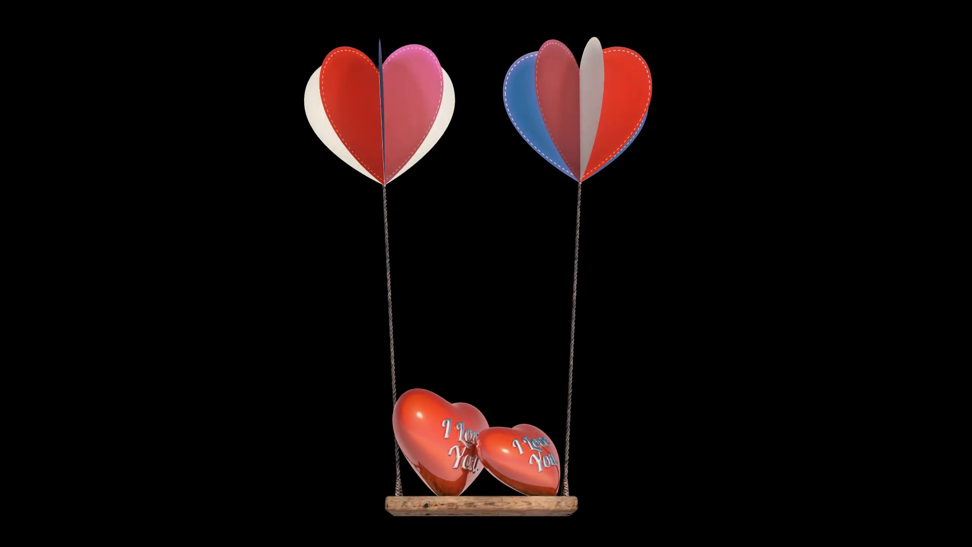 Heart Balloon Background Animation for Valentines Day and Wedding. Motion  Background - VideoBlocks - Animated Valentines Day PNG
