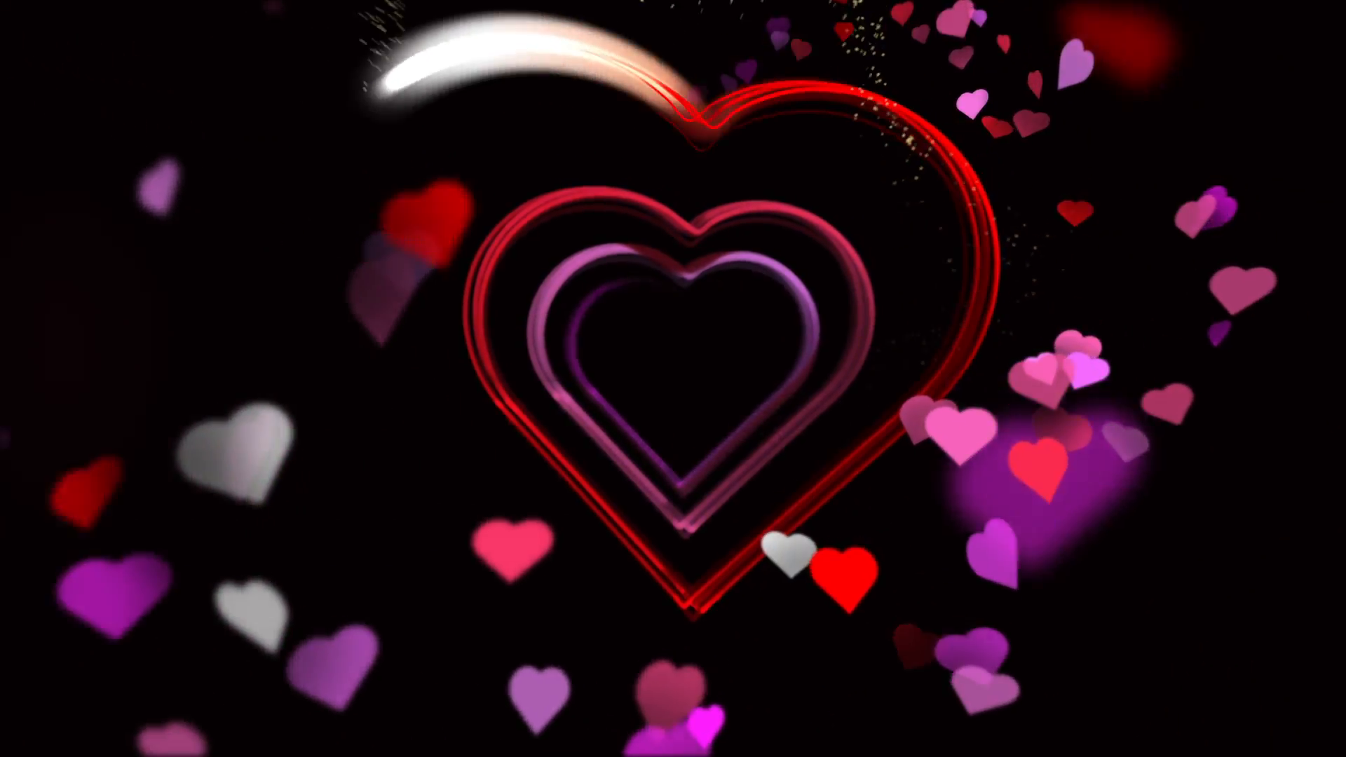 Heart of Love Valentineu0027s Day Animation Loop Motion Background - VideoBlocks - Animated Valentines Day PNG