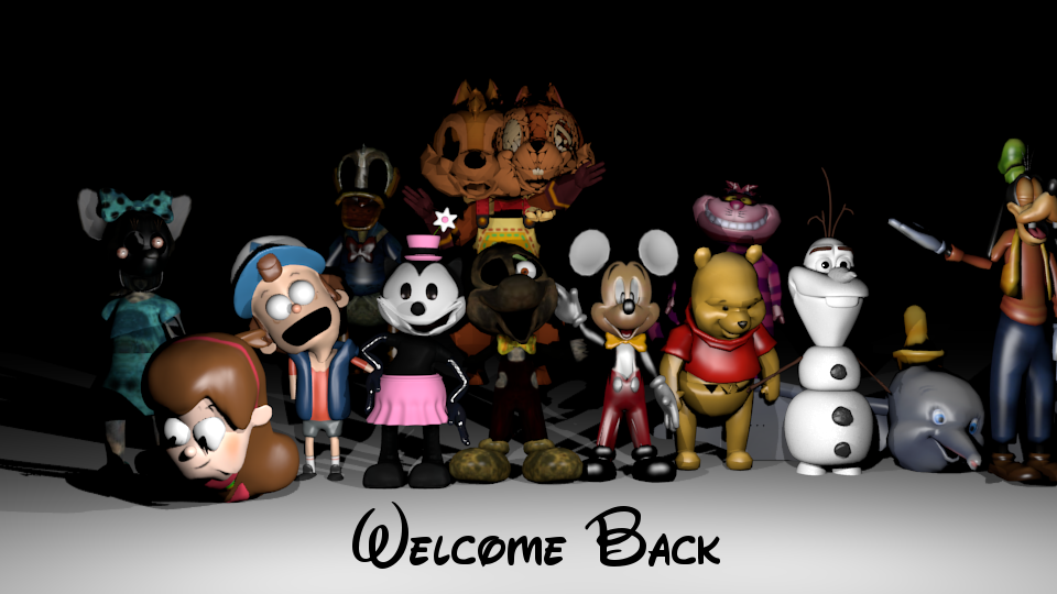 Welcome Back.png - Animated Welcome Back PNG