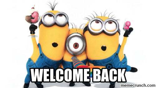 Welcome back to term 2 - Animated Welcome Back PNG