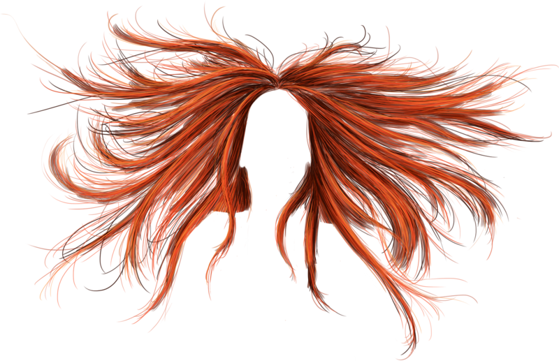 Download PNG image - Hair Png 9 786 - Anime Hair PNG