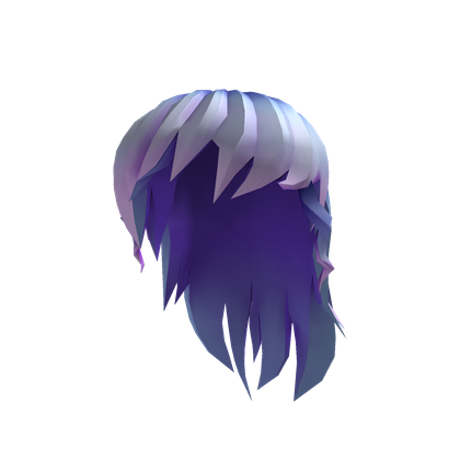 File:Blue Anime Girl Hair.png - Anime Hair PNG