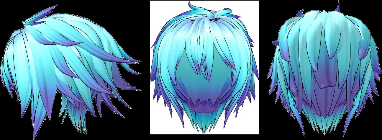 Anime Hair PNG - 169003