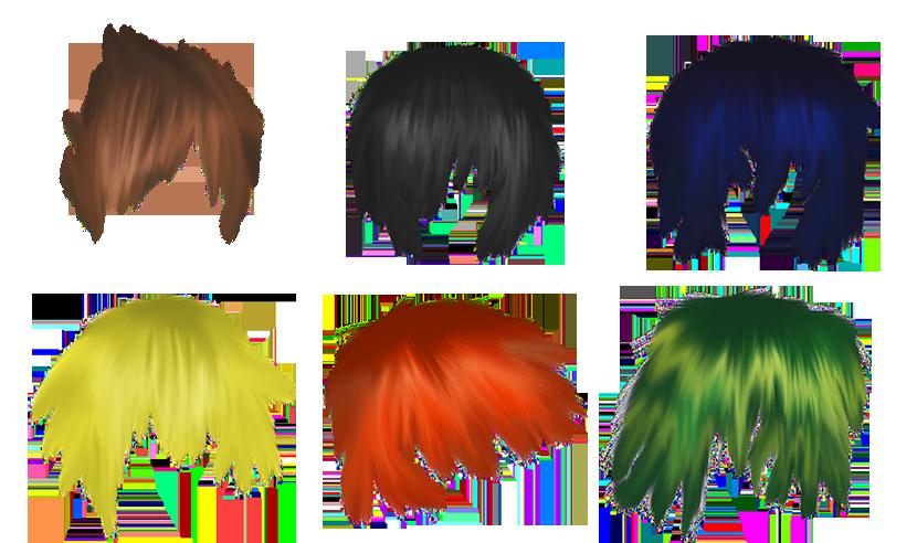 Anime Hair PNG - 169000