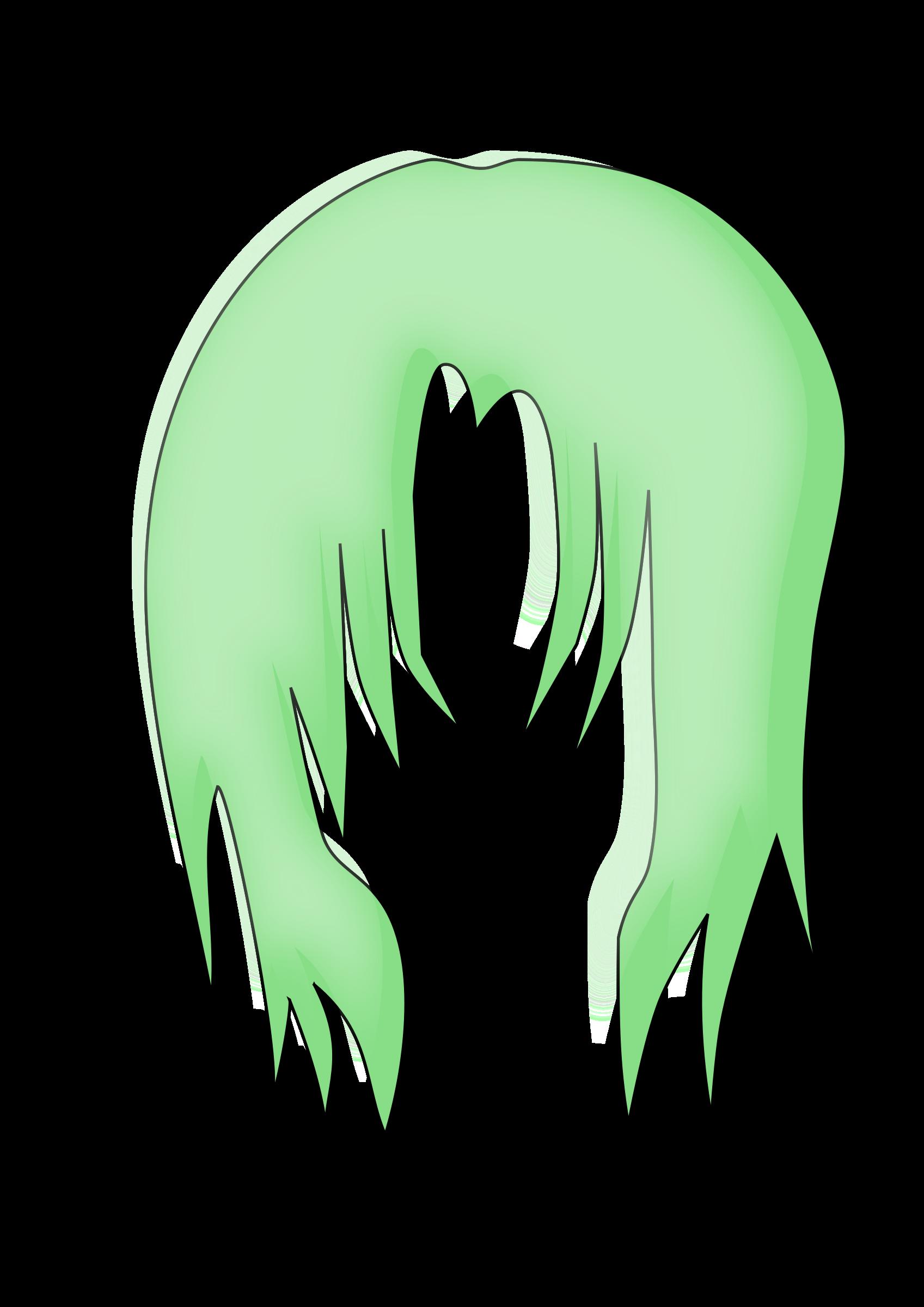 Anime Hair PNG - 169004