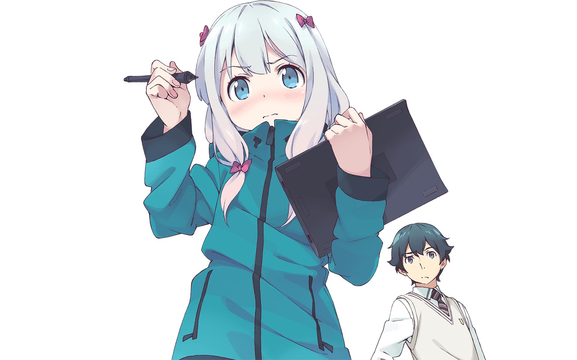 Anime - EroManga-Sensei Sagiri Izumi Masamune Izumi Bakgrund - Anime HD PNG