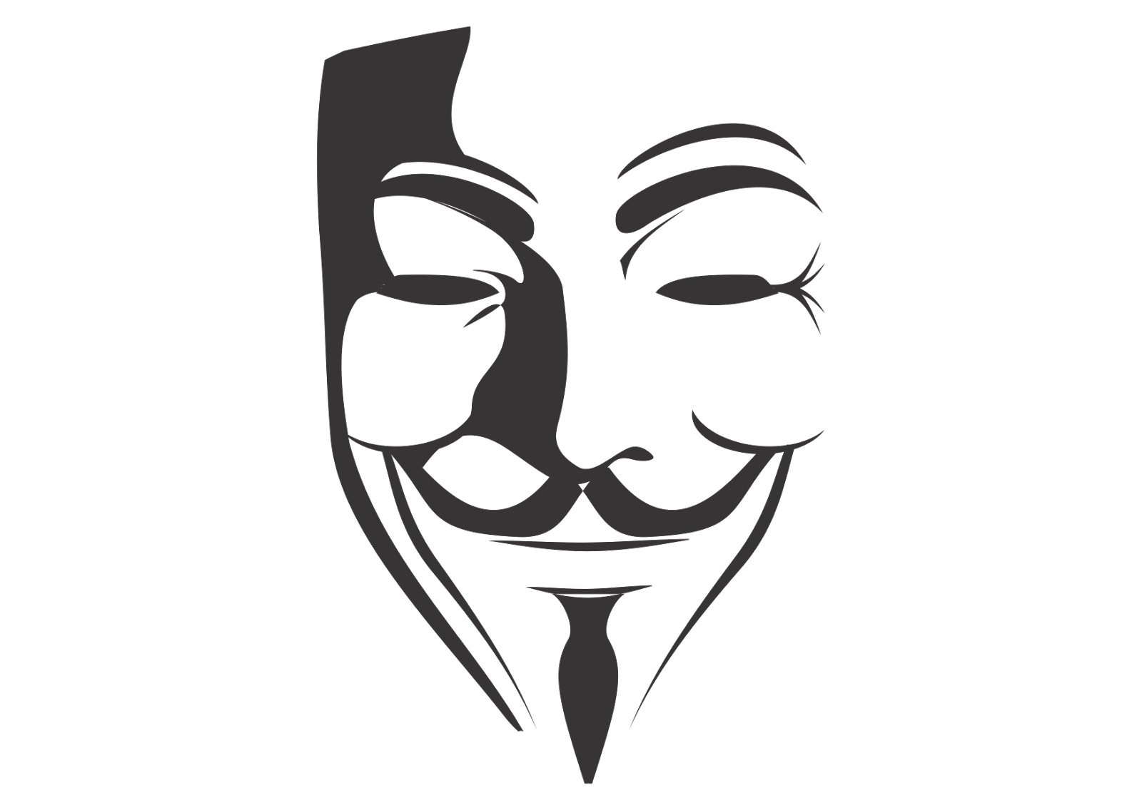 V-for-Vendetta-logo-vector.png (1600×1136) - Anonymous Vector PNG