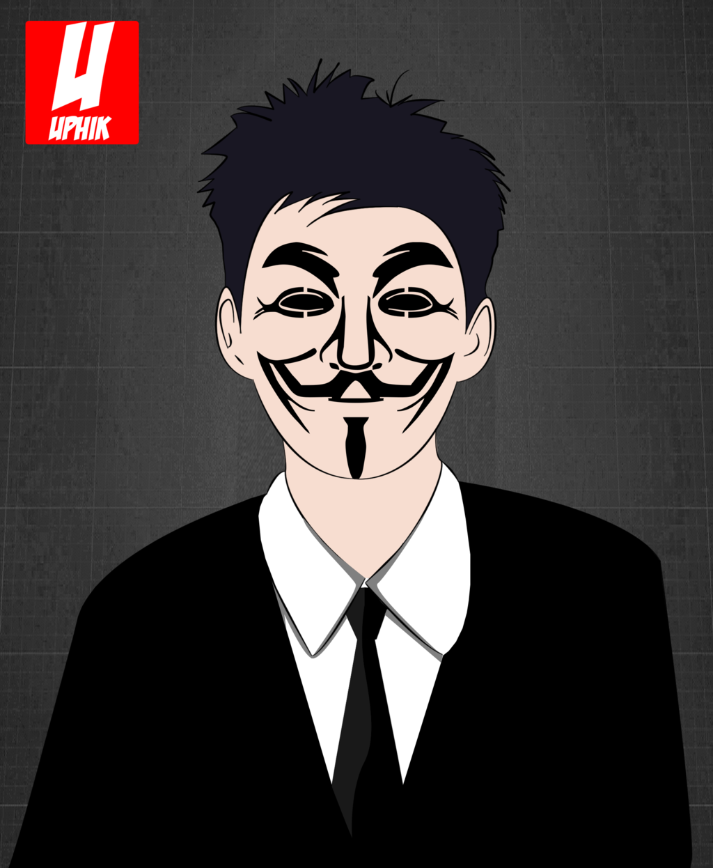 Vector Anonymous UPHIK By Fikridhiya97 Vector Anonymous UPHIK By  Fikridhiya97 - Anonymous Vector PNG