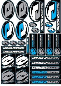 Answer Racing Logo Vector PNG