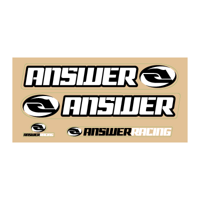 Answer Racing Logo Vector . - Answer Racing Us Logo Vector PNG