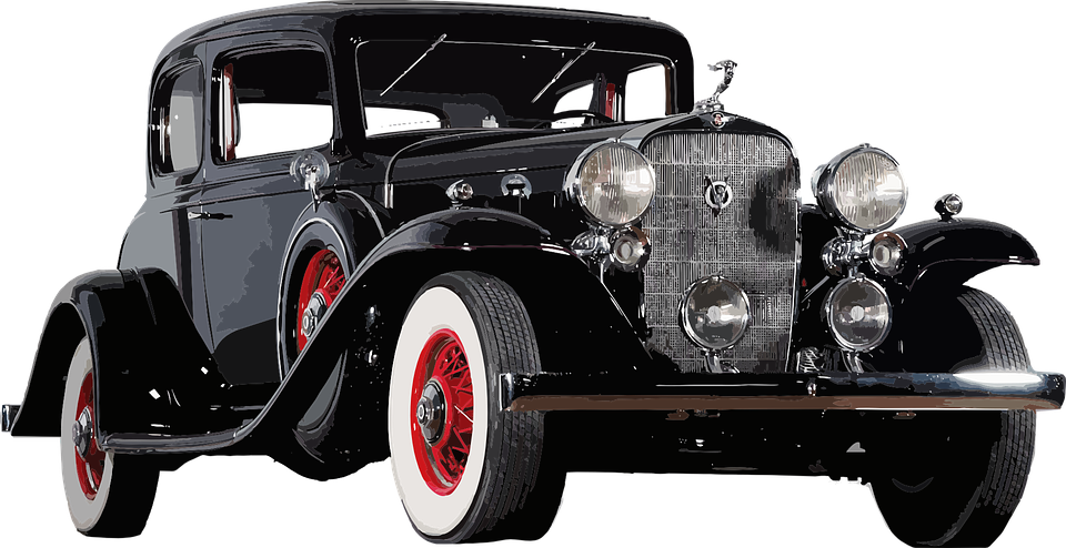 Antique Car PNG HD - 128256