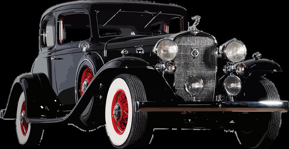 Antique Car PNG HD