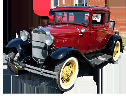 Classic Car PNG Transparent Picture - Antique Car PNG HD