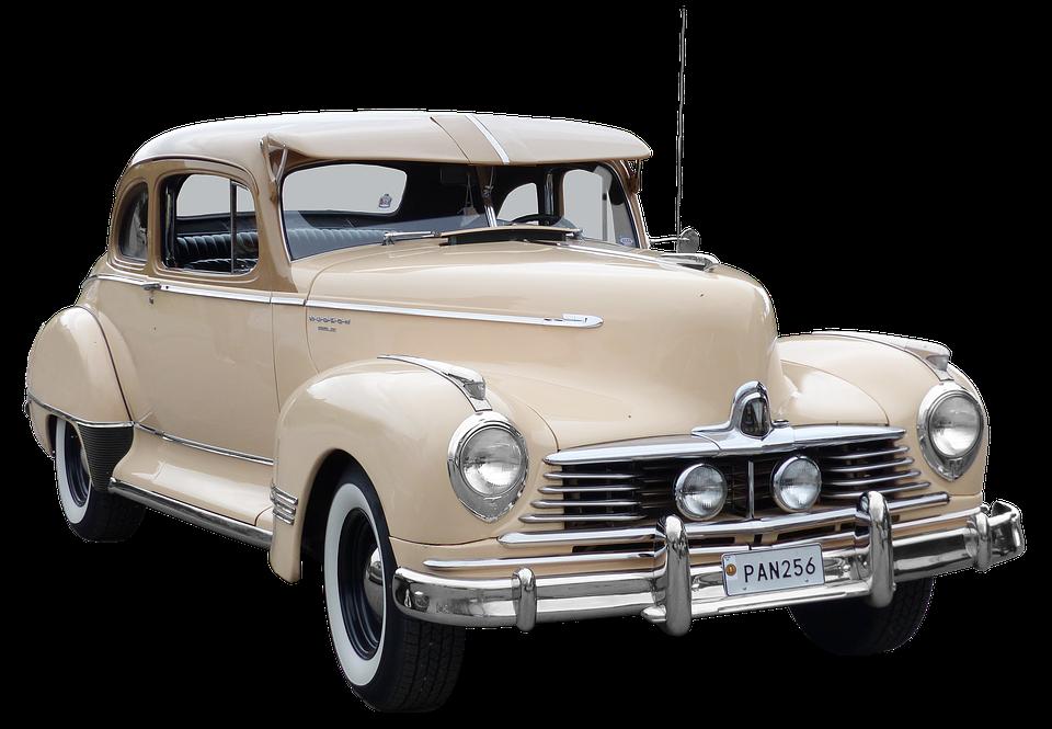 Hudson, Oldtimer, 40Ziger Years, Old Car - Antique Car PNG HD
