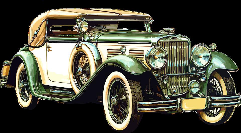 Antique Car PNG HD - 128264