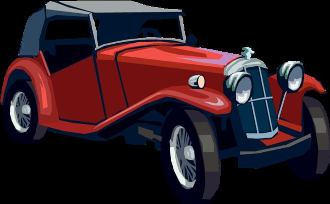 Antique Car PNG HD - 128268