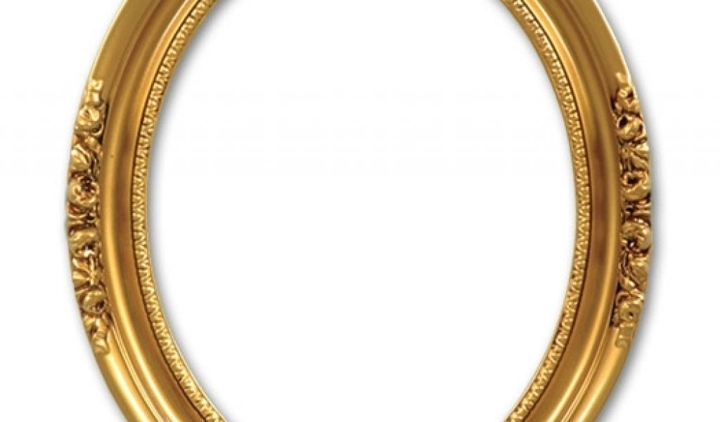 . PlusPng.com Antique Oval Photo Frame. Download by size:Handphone PlusPng.com  - Antique Oval Frame PNG