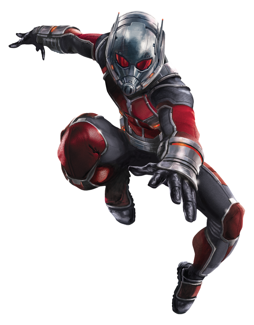 Civil War Ant-man Char art 2.png - Antman HD PNG