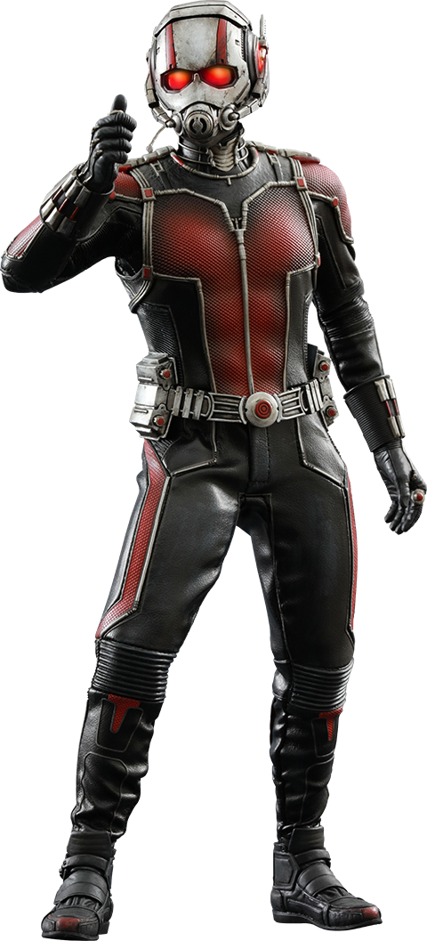 Hot-Toys Ant-Man 1.png - Antman HD PNG
