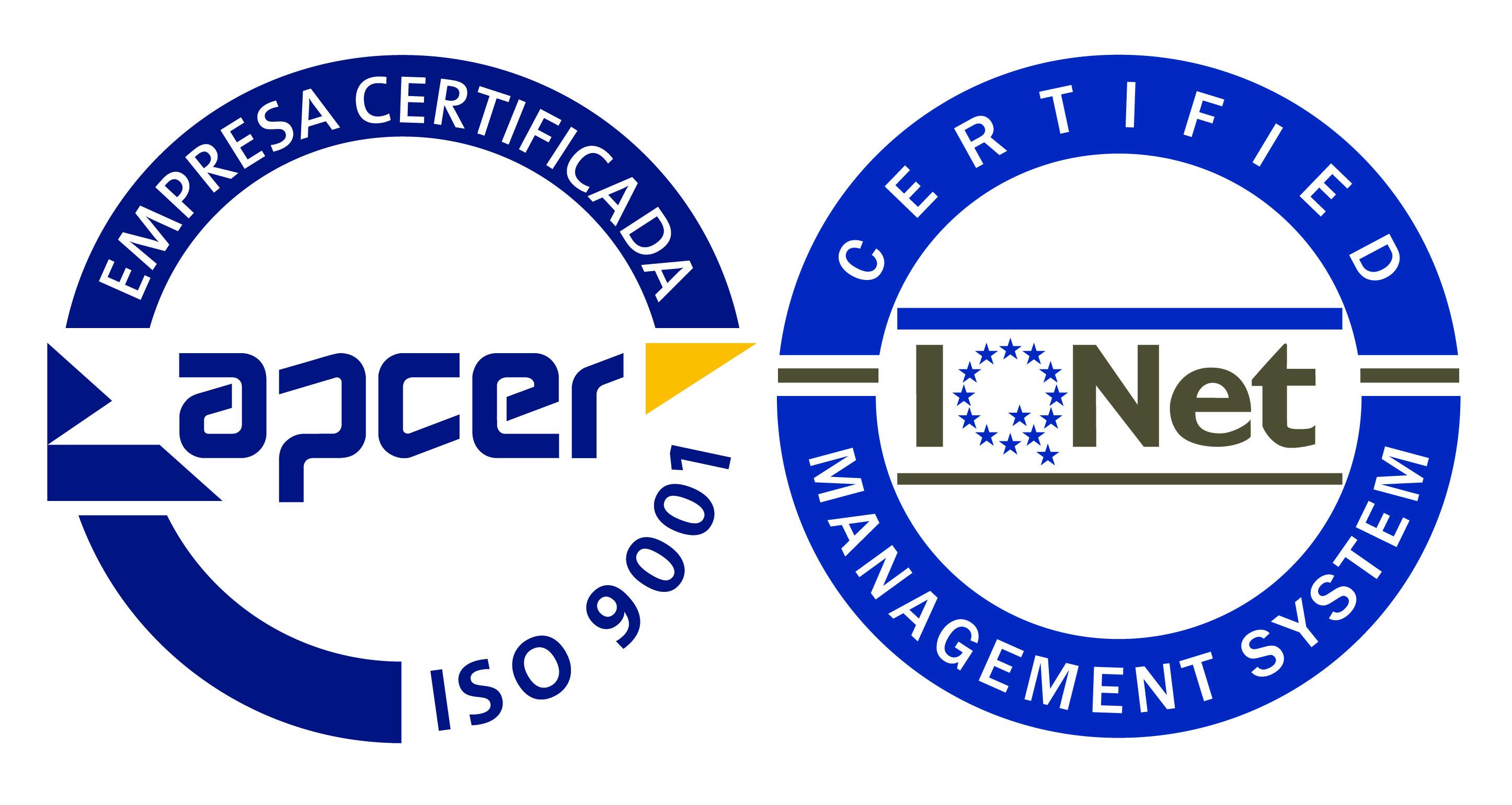 Certificação NP EN ISO 9001:2008 - Apcer Logo PNG