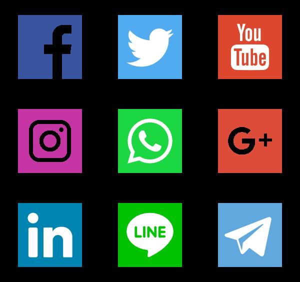Social Networks Logos - Aplic Art Logo Vector PNG