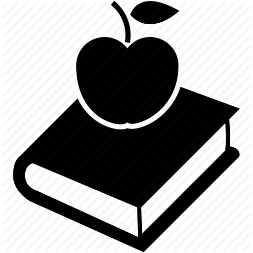 Apple And Book PNG - 170877