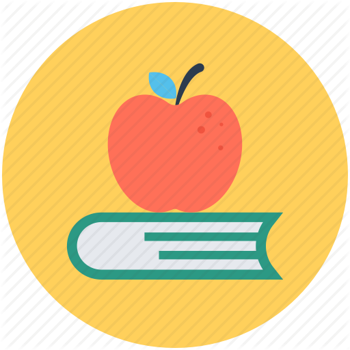 Apple And Book PNG - 170886