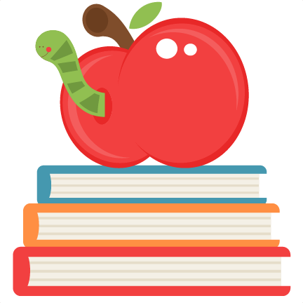 Apple And Book PNG - 170878