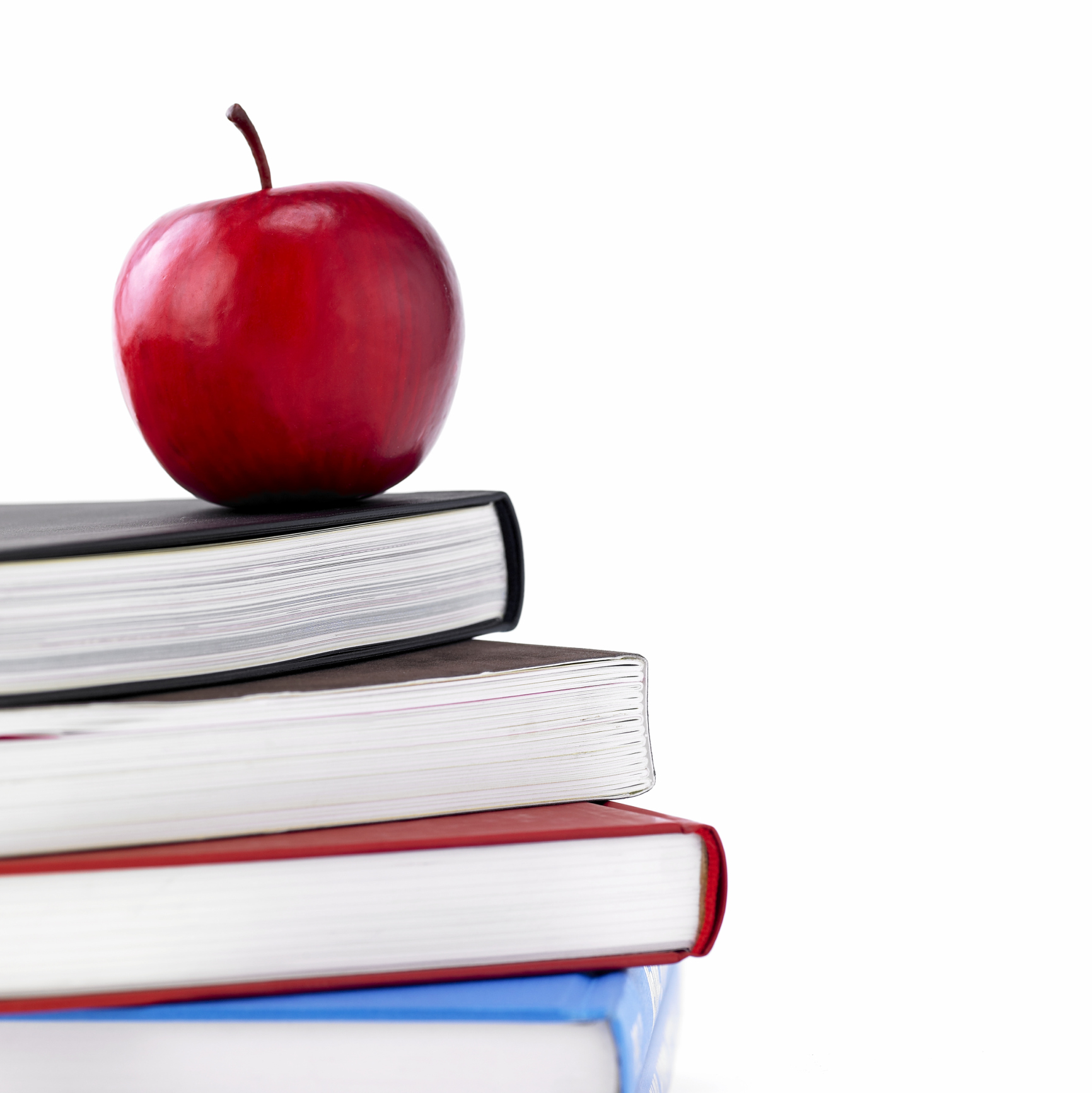 Apple And Book PNG - 170889
