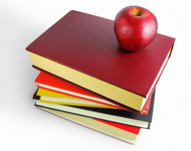 Apple And Book PNG - 170890