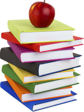 Apple And Book PNG - 170885