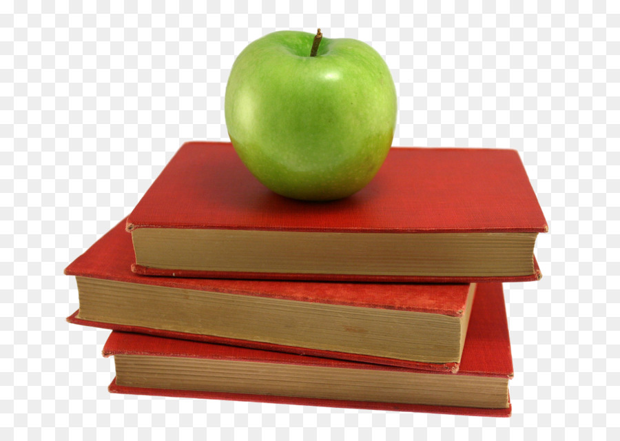 Apple And Book PNG - 170883
