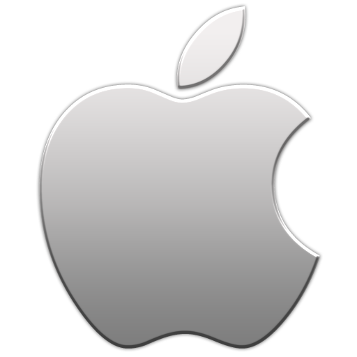 Apple Aluminum Icon from the Apple Logo Icons by Thvg - Apple Ios Logo PNG