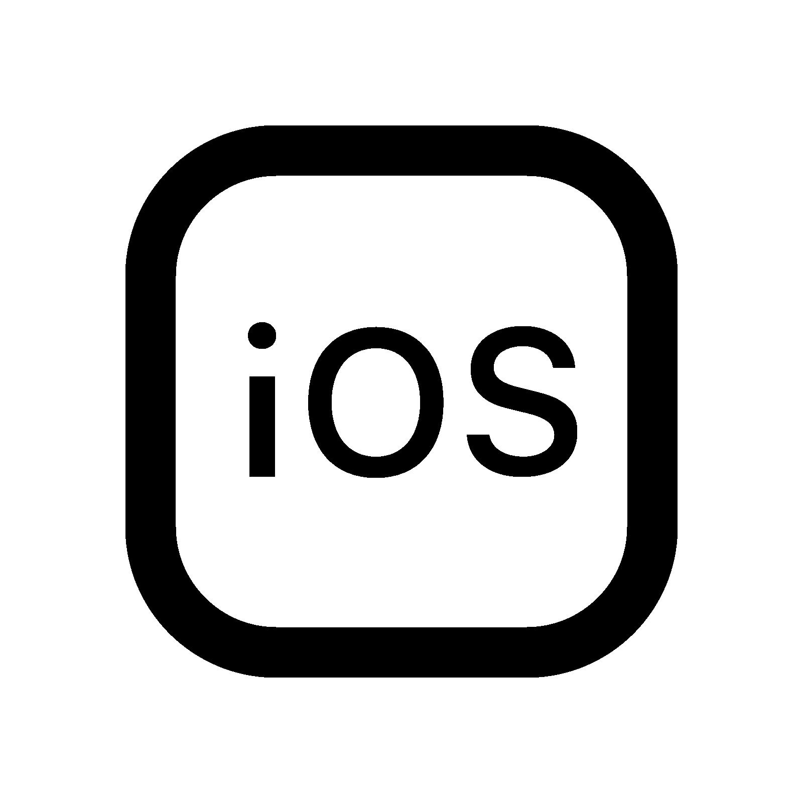 Apple Ios Logo PNG - 31883