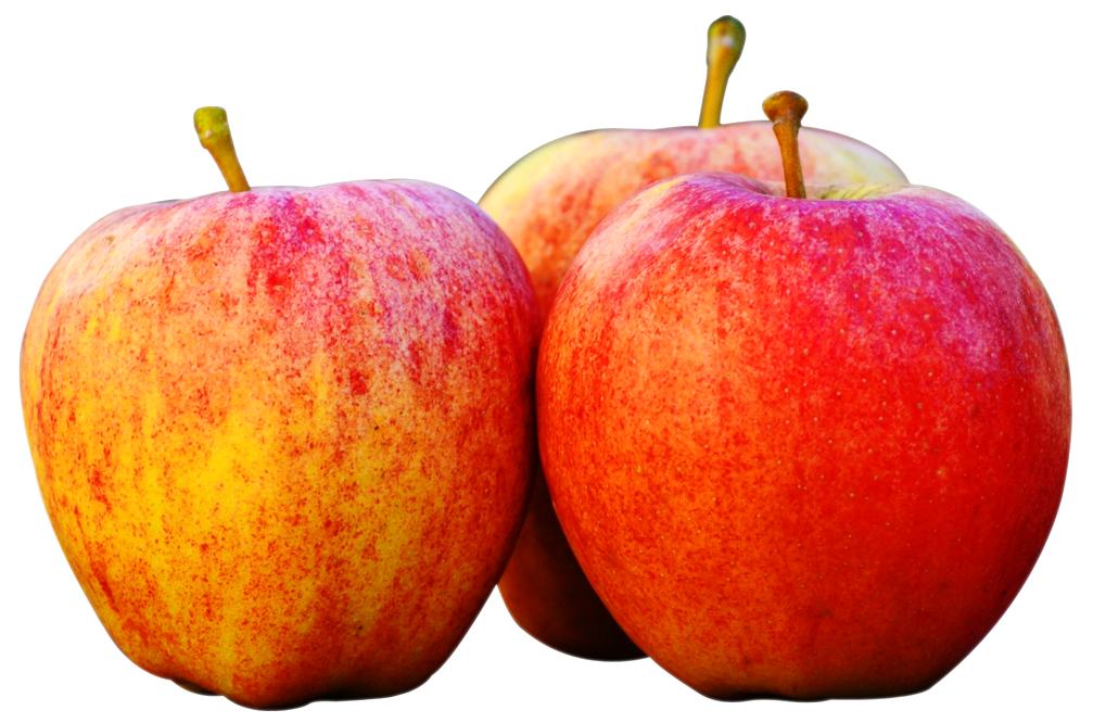 Three Apples PNG image - Apple PNG