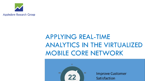 Applying Real-Time Analytics in the Virtualized Mobile Core Network -  Appledore Research - Appledore Group PNG