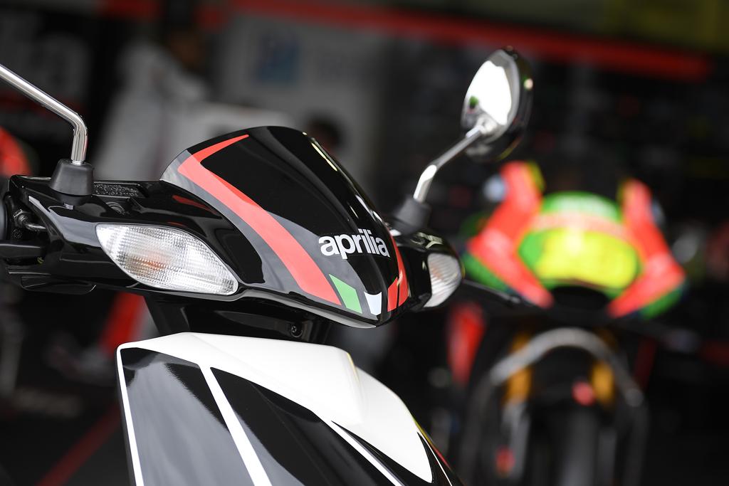 The Italian edge makes this Aprilia performer a great looker - Aprilia Sport Logo PNG