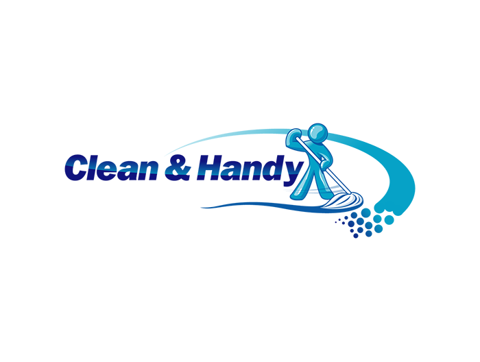 clean-and-handy - Aqua Cleaning Logo Vector PNG