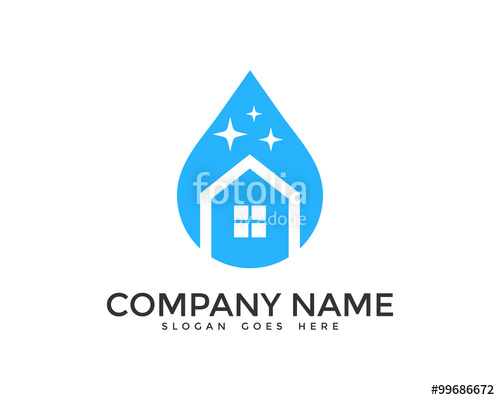 free cleaning logo images - Aqua Cleaning Logo Vector PNG