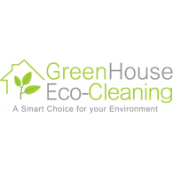 GreenHouse Eco-Cleaning Logo Vector - Aqua Cleaning Logo Vector PNG