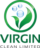 Virgin Cleaning Limited Logo Vector - Aqua Cleaning Logo Vector PNG