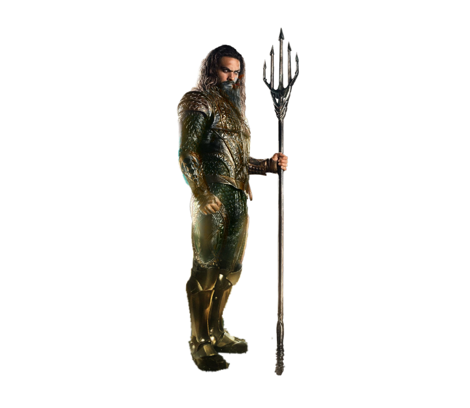 Aquaman Full Body PNG Render by MrVideo-VidMan PlusPng.com  - Aquaman PNG