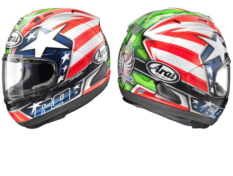 2016-Arai-Corsair-X-Helmet-Nicky Feature RRPP - Arai Helmets PNG