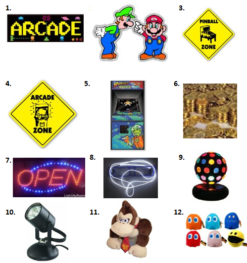 Arcade Party - Decorations - Arcade Fun PNG