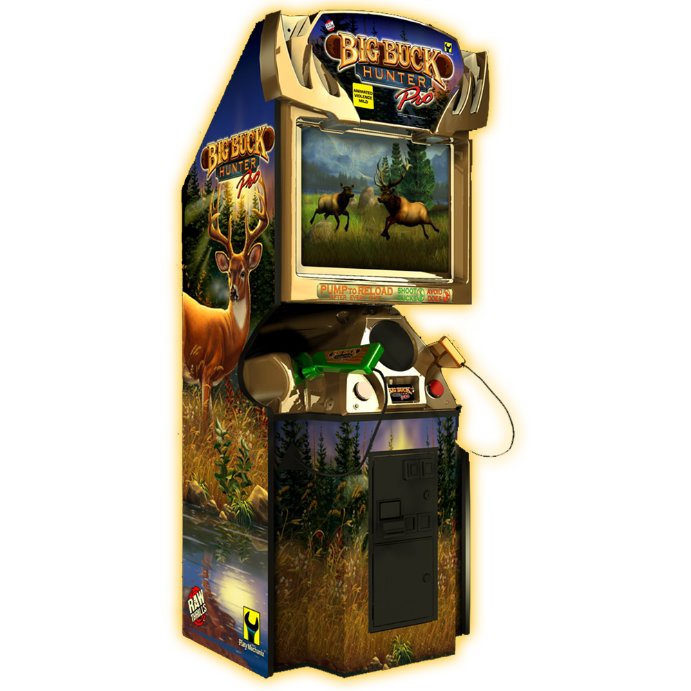 big buck hunter - Arcade Fun PNG