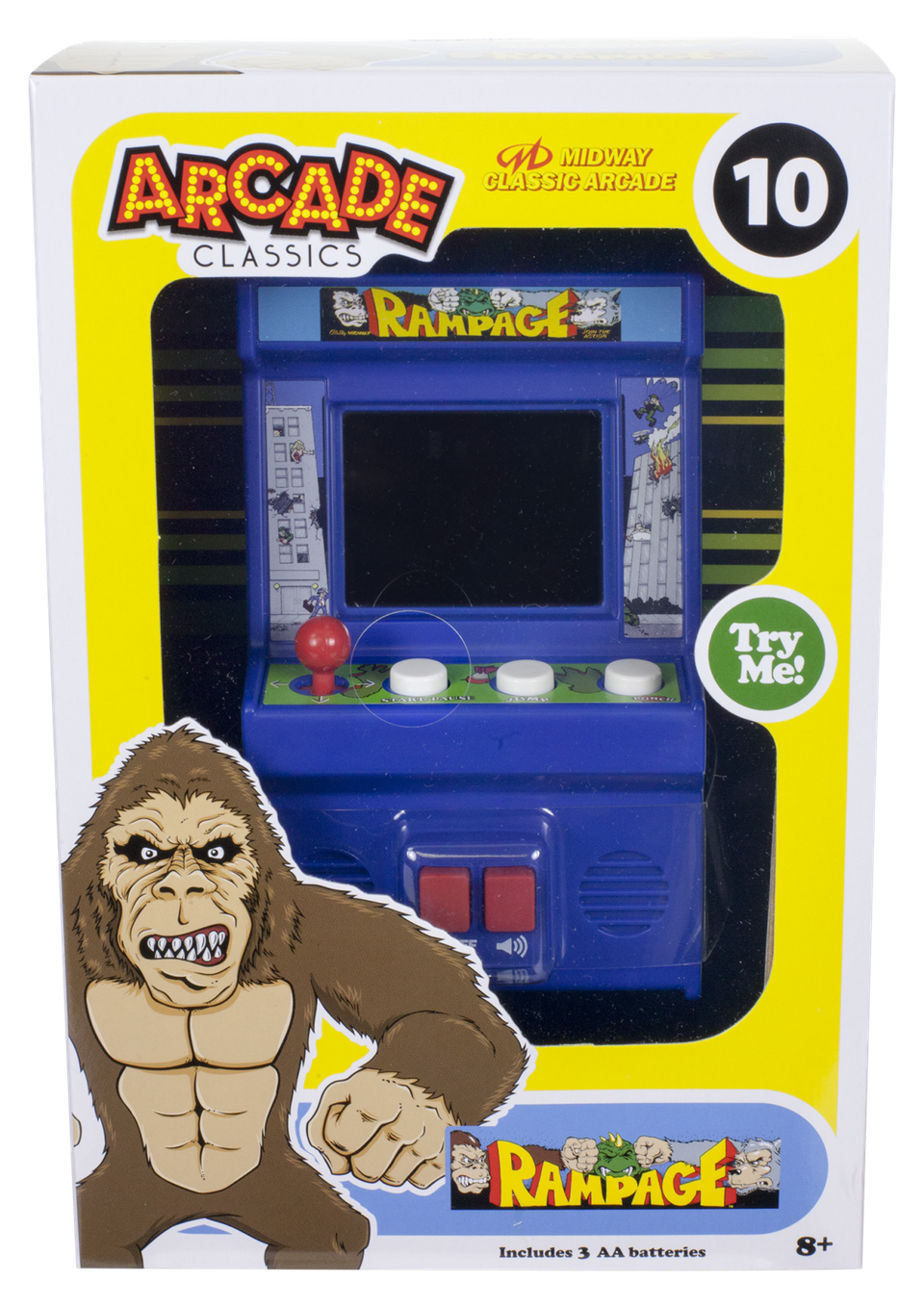 u0027Rampageu0027 Mini Arcade: Big Fun, Small Screen - Arcade Fun PNG