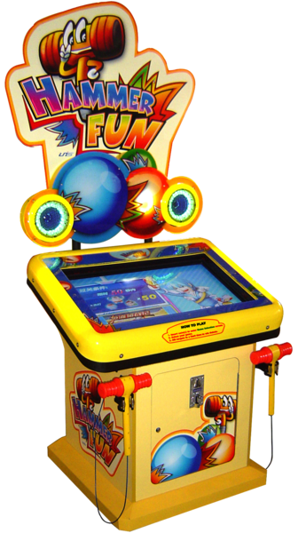 SKU: Hammer Fun - Arcade Fun PNG