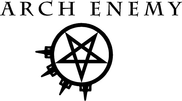 Arch Enemy Decal / Sticker 05 - Arch Enemy Logo PNG